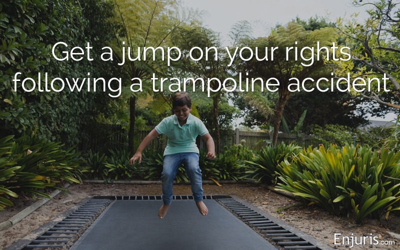 common trampoline injuries