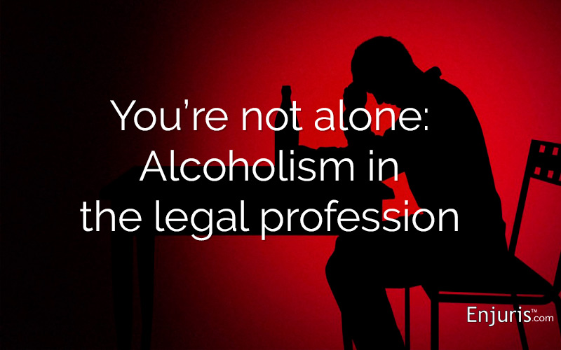 Problem drinking in the legal field