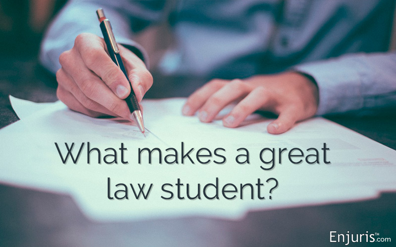 Characteristics of top law students
