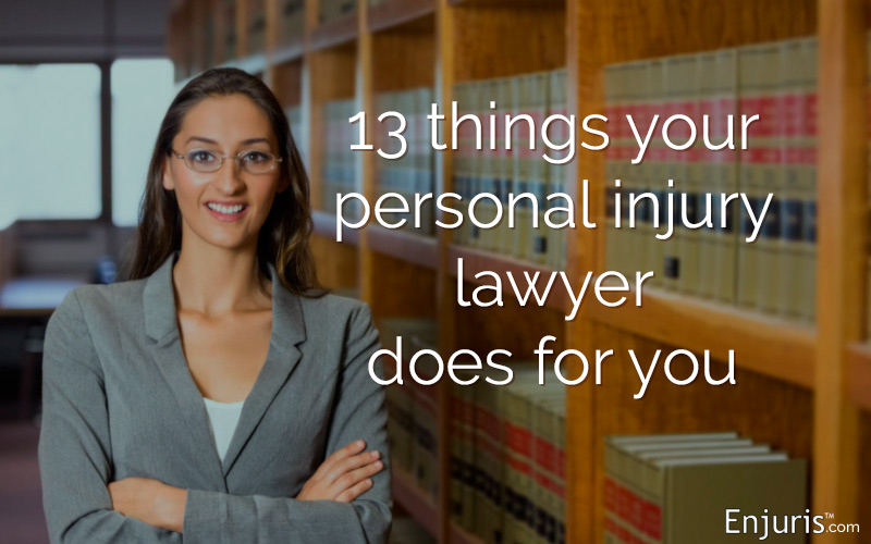 Personal injury lawyers - what they do