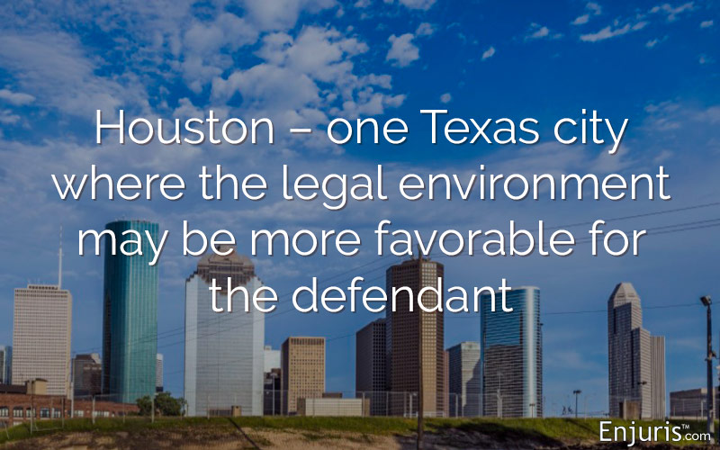 Houston, thought to be defendant-friendly