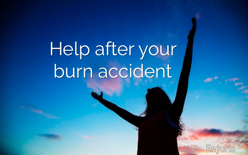 Help after your burn accident