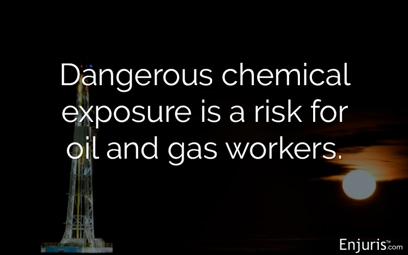 Texas, oil and gas, chemical exposure