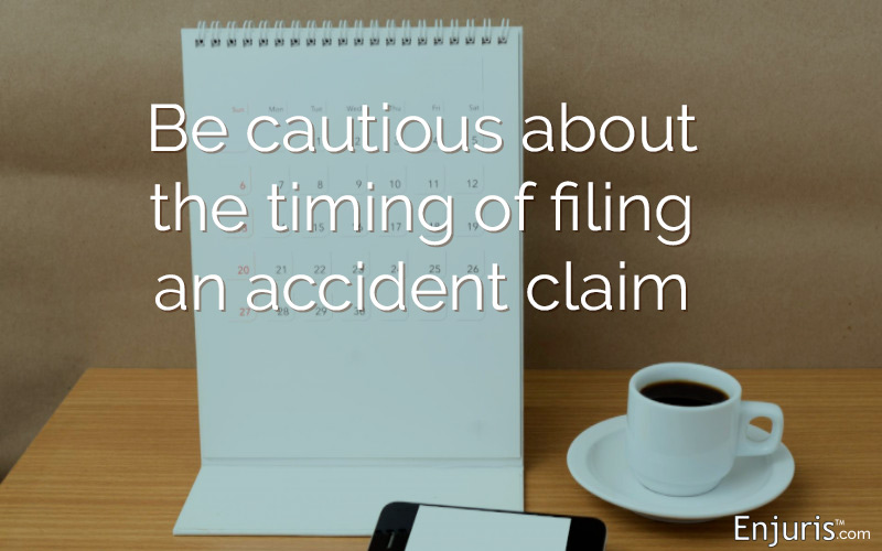 Timing: Texas Personal Injury Law Basics