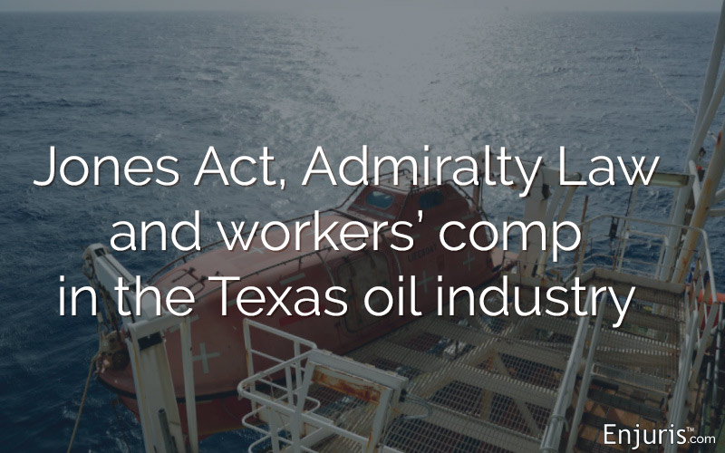 offshore drilling, workplace accidents, Jones Act