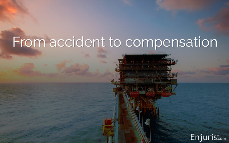 Oil rig accidents and legal claims in Texas