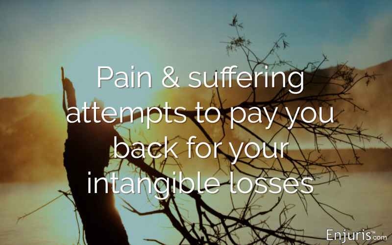 Pain & suffering - talking money in Texas injury lawsuits