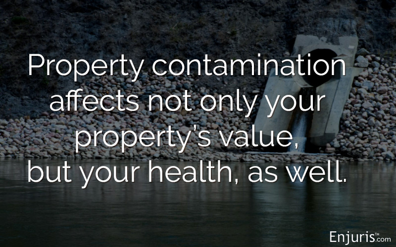 Property contamination in Texas